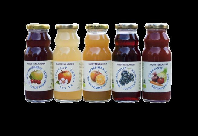 Les livraisons de jus de fruits bio et de boissons bio