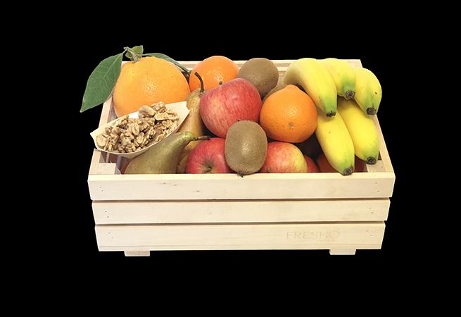 Les corbeilles de fruits Bio