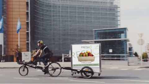 Nouvelles livraisons à vélo dans le centre de Bruxelles et de Namur !